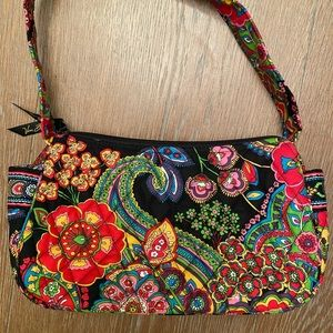 Vera Bradley Multi Paisley Small Shoulder bag